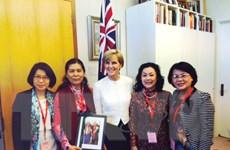 Australia công bố hai dự án hỗ trợ dành cho phụ nữ Việt Nam