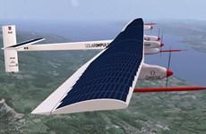 Máy bay Solar Impulse 2 tiếp tục hành trình vòng quanh thế giới