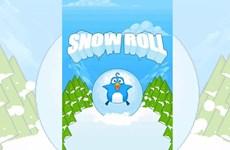 """Snow Roll - game mới thách thức độ """"điên rồ"""" với Flappy Bird"""