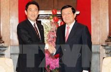 Quan hệ hợp tác Việt Nam-Nhật Bản đang phát triển vượt bậc