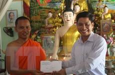 Chúc Tết Chol Chnam Thmay đồng bào Khmer tại tỉnh Hậu Giang