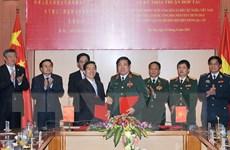 Việt Nam-Trung Quốc ký thỏa thuận phối hợp biên phòng 3 cấp