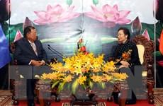 Phó Chủ tịch nước Lào sang Việt Nam dự kỷ niệm ngày 30/4