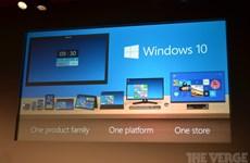 """Microsoft đặt mục tiêu """"phủ sóng"""" Windows 10 tới 1 tỷ thiết bị"""