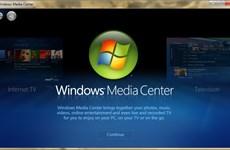 """Microsoft sắp """"khai tử"""" chương trình Windows Media Center"""