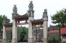 """Tùy tiện đặt tên vua Trần trên bia mộ """"dựng chui"""" ở đền Trần"""