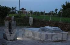 Đã tháo dỡ và di dời 6 tấm bia còn lại ở Đền Trần-Thái Bình