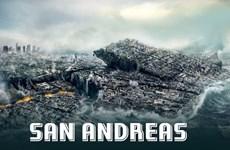 """Phim thảm họa """"San Andreas"""" thắng lớn với doanh thu 53 triệu USD"""