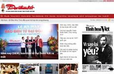 Báo Đại Đoàn Kết ra mắt báo điện tử và 2 chuyên trang tin tức