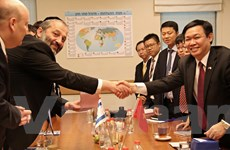 Việt Nam-Israel kỳ vọng nâng kim ngạch thương mại lên 2 tỷ USD