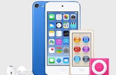 Apple làm mới dòng máy iPod và ra mắt mẫu iPod touch mới
