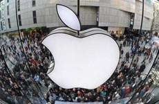 Doanh số iPhone thấp hơn dự báo, cổ phiếu Apple giảm gần 7%