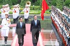 Việt Nam-Anh quan ngại về thay đổi hiện trang ở Biển Đông