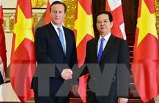 Anh muốn tăng cường hợp tác chặt chẽ hơn nữa với ASEAN