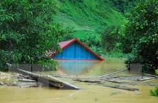 10 nhà dân ở Tuần Giáo của tỉnh Điện Biên vẫn chìm trong nước lũ