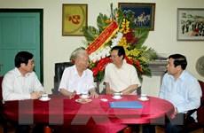 Thủ tướng thăm nguyên Chủ tịch nước, Đại tướng Lê Đức Anh