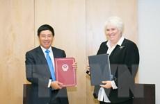 Hai nước Việt Nam-Estonia ký hiệp định tránh đánh thuế hai lần
