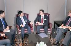 Phó Thủ tướng Phạm Bình Minh gặp ngoại trưởng Bulgaria, Đan Mạch
