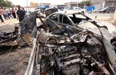 Đánh bom xe gần trụ sở Quốc hội ở thủ đô Tripoli của Libya