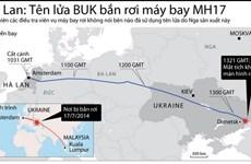 [Infographics] Ủy ban Hà Lan xác nhận tên lửa BUK bắn rơi máy bay MH17