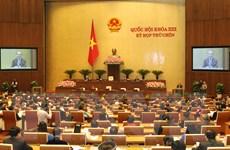 Quốc hội sẽ thông qua các dự án luật thể chế hóa Hiến pháp