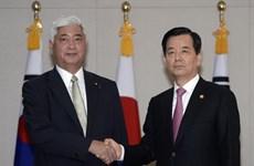 Bộ trưởng Quốc phòng Nhật Bản lần đầu đến Hàn Quốc sau 5 năm