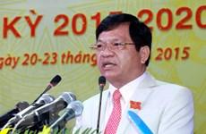 Ông Lê Viết Chữ tái đắc cử chức danh Bí thư Tỉnh ủy Quảng Ngãi