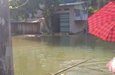 Thủy điện Lai Châu tích nước, hàng chục hộ dân hốt hoảng chạy lụt