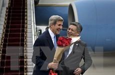 Ngoại trưởng Mỹ Kerry tới Kyrgyzstan, bắt đầu công du Trung Á