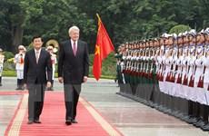 Phát triển sâu rộng, đa lĩnh vực quan hệ hợp tác Việt Nam-Iceland