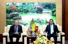 Hoa Kỳ ủng hộ Việt Nam xây dựng các dự luật về hội và tôn giáo