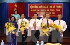 Tỉnh Tây Ninh họp, bầu mới một loạt các chức danh lãnh đạo