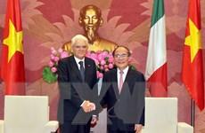 Quốc hội Việt Nam ủng hộ phát triển quan hệ hợp tác với Italy