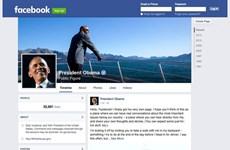 7 ngày thế giới công nghệ: Ông Obama ra trang Facebook cá nhân