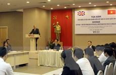 Đại sứ Việt Nam ở Anh: Dư địa cho hàng Việt Nam vào Anh rất lớn