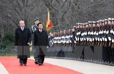 Chủ tịch nước Trương Tấn Sang hội đàm với Tổng thống Đức J.Gauck
