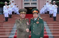 Bộ trưởng Quốc phòng Triều Tiên lần đầu tiên thăm Việt Nam