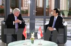 Việt Nam coi trọng quan hệ hợp tác với bang Hessen của Đức