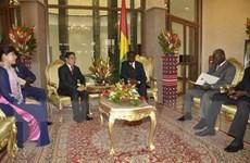 Burkina Faso công nhận quy chế kinh tế thị trường của Việt Nam