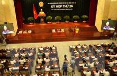 Kỳ họp 20 HĐND TP Hồ Chí Minh bầu tân Chủ tịch thành phố