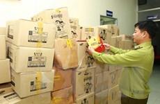 Phát hiện ba kho chứa hàng chục nghìn sản phẩm nghi nhập lậu
