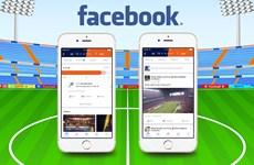Facebook ra nền tảng cung cấp thông tin thể thao thời gian thực