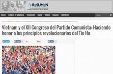 Truyền thông Argentina ca ngợi thành tựu của Đảng Cộng sản Việt Nam