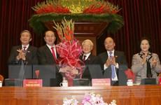 Đồng chí Nguyễn Phú Trọng được tín nhiệm bầu làm Tổng Bí thư khóa XII