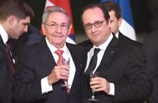 Tổng thống Pháp Hollande kêu gọi Mỹ chấm dứt trừng phạt Cuba