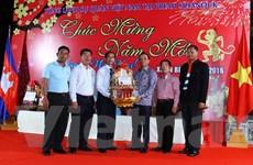 Tổng Lãnh sự Việt Nam ở Sihanoukville tổ chức đón Tết cổ truyền