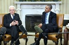 Lãnh đạo Mỹ và Italy họp bàn biện pháp chống IS tại Libya