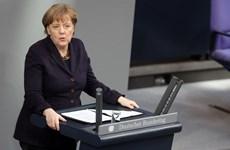 Thủ tướng Đức nêu trọng tâm giải quyết khủng hoảng người tị nạn
