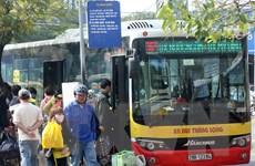 """Hà Nội mở rộng """"phủ sóng"""" xe buýt đến các huyện ngoại thành"""