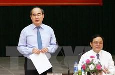 Ông Nguyễn Thiện Nhân khảo sát đề án dân chấm điểm chính quyền